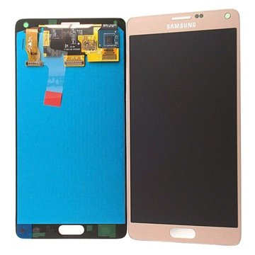 Samsung Galaxy Note 4 LCD Display Goud