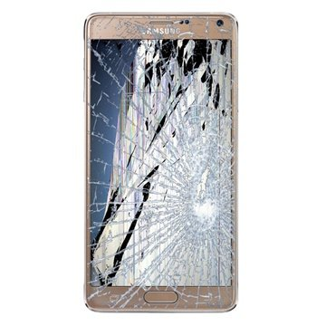 Samsung Galaxy Note 4 LCD & Touchscreen Reparatie Goud