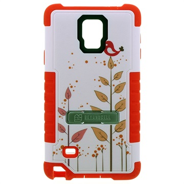Samsung Galaxy Note 4 Beyond Cell Tri Shield Design Hybrid Cover Vogel
