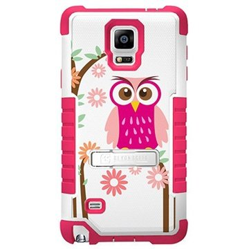 Samsung Galaxy Note 4 Beyond Cell Tri Shield Design Hybride Cover Madeliefje Uil