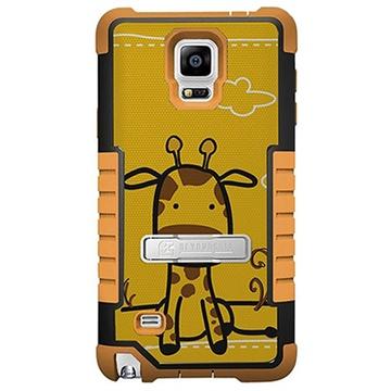Samsung Galaxy Note 4 Beyond Cell Tri Shield Design Hybride Cover Giraf