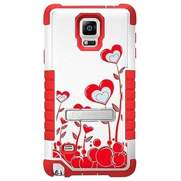 Samsung Galaxy Note 4 Beyond Cell Tri Shield Design Hybride Cover True Heart