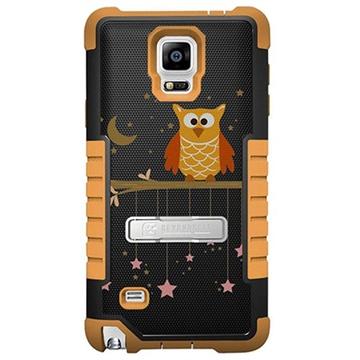 Samsung Galaxy Note 4 Beyond Cell Tri Shield Design Hybride Cover Twinkelende Sterren