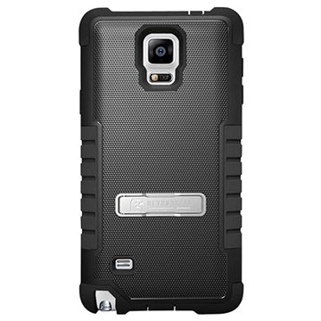Samsung Galaxy Note 4 Beyond Cell Tri Shield Hybrid Cover Zwart