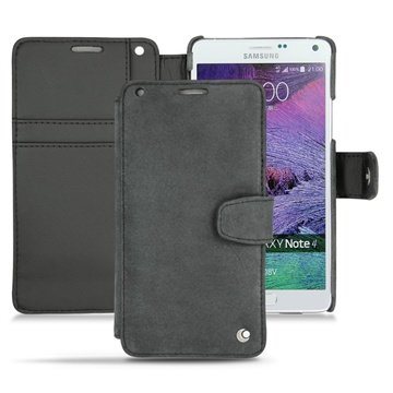Samsung Galaxy Note 4 Noreve Tradition B Wallet Leren Hoesje - Exception Donker Vintage