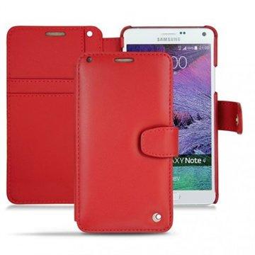 Samsung Galaxy Note 4 Noreve Tradition B Wallet Leren Hoesje - Perpétuelle Rood