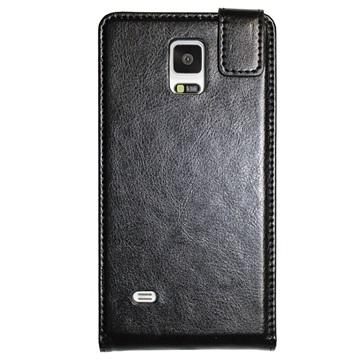 Samsung Galaxy Note 4 UreParts Flip Case Zwart