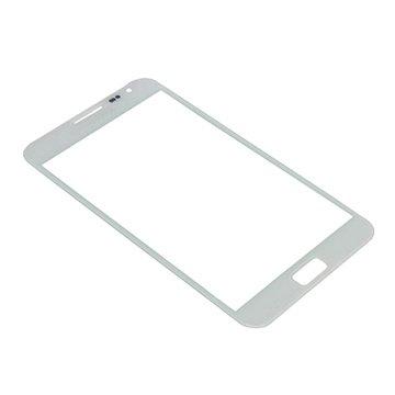 Samsung galaxy note n7000 displayglas   wit.  verpakking: bulk