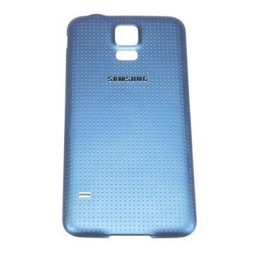 Originele samsung galaxy s 5 batterij cover   blauw.  verpakking: bulk