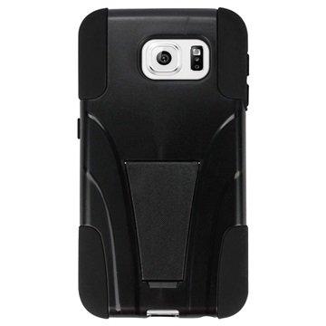 Samsung Galaxy S6 Beyond Cell Hyber Shell Cover Zwart