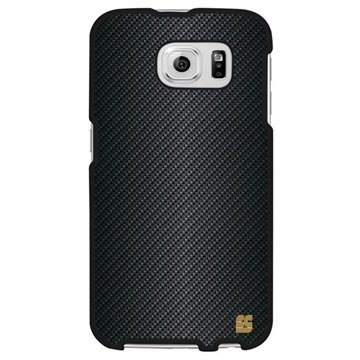 Samsung Galaxy S6 Beyond Cell Protex Design Hard Cover Carbon Fiber