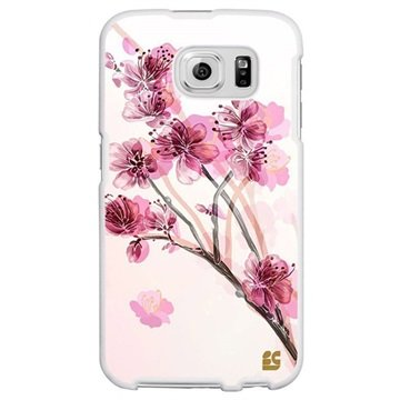 Samsung Galaxy S6 Beyond Cell Protex Design Hard Cover Cherry Blossom