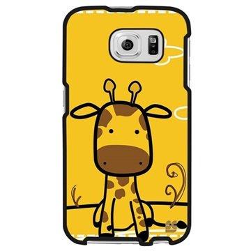 Samsung Galaxy S6 Beyond Cell Protex Design Hard Cover Giraffe