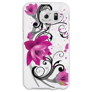 Samsung Galaxy S6 Beyond Cell Protex Design Hard Cover Lotus