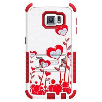 Samsung Galaxy S6 Beyond Cell Tri Shield Design Hybride Cover True Heart