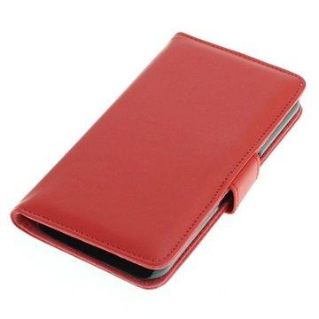 Samsung Galaxy S6 Book Style Flip Case Rood