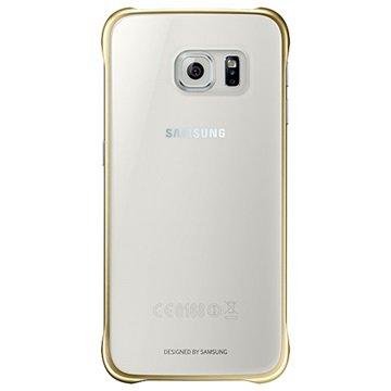 Samsung Galaxy S6 Clear Cover EF-QG920BFEGWW Goud