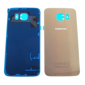 Samsung Galaxy S6 Batterij Cover Goud