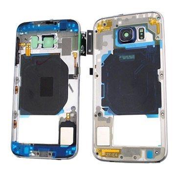 Samsung Galaxy S6 Middenbehuizing Zwart