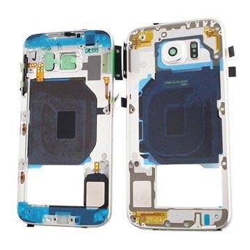 Samsung Galaxy S6 Middenbehuizing Wit
