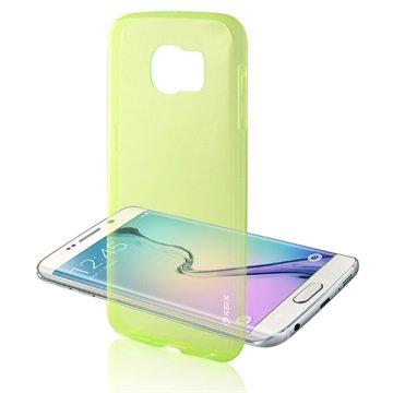 Samsung Galaxy S6 Ksix Ultrathin Fusion TPU Case Groen