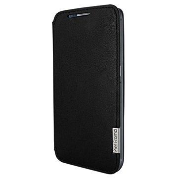 Samsung Galaxy S6, S6 Edge Piel Frama FramaSlim Leren Case Zwart