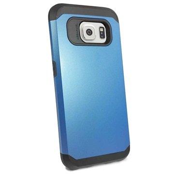 Samsung Galaxy S6 Tuff-luv Armour Hard Cover Blauw