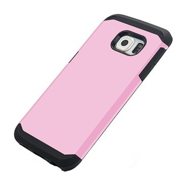 Samsung Galaxy S6 Tuff-luv Armour Hard Cover Roze