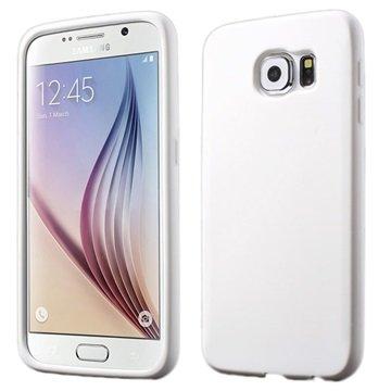 Samsung Galaxy S6 Siliconen Hoesje Wit