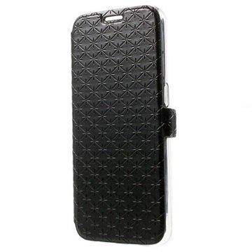 Samsung Galaxy S6 Slim Wallet Hoesje Zwart