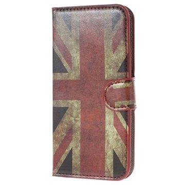 Samsung Galaxy S6 Stylish Wallet Hoesje Union Jack