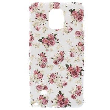 Samsung Galaxy Note 4 TPU Case Rozen