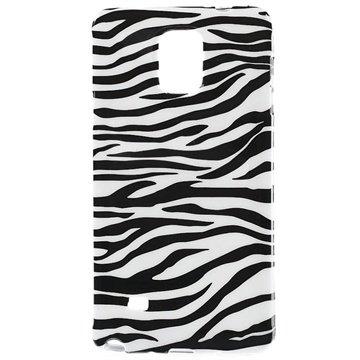 Samsung Galaxy Note 4 TPU Case Zebra