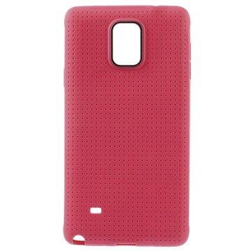 Samsung Galaxy Note 4 Dream Mesh TPU Case Hot Pink