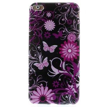 iPhone 6 Plus / 6S Plus TPU Case Vlinders / Bloemen