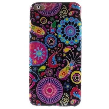 iPhone 6 Plus / 6S Plus TPU Case Paisley Motief