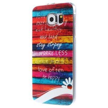 Samsung Galaxy S6 TPU Case Colorful