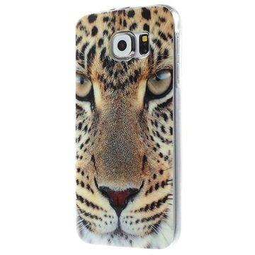 Tpu case voor samsung galaxy s 6   luipaard  breng uw toestel tot leven met deze kleurrijke tpu ...
