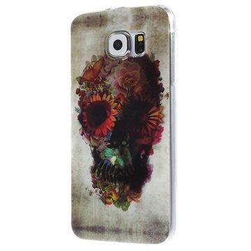 Samsung Galaxy S6 TPU Case Suiker Schedel