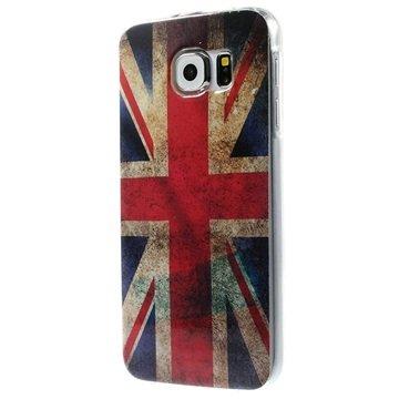 Samsung Galaxy S6 TPU Case Vlag Verenigd Koninkrijk