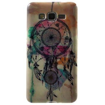Tpu case voor samsung galaxy grand prime   dromenvanger  breng uw toestel tot leven met deze kleurrijke tpu ...