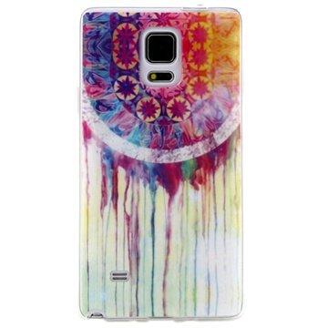 Samsung Galaxy Note 4 TPU Case Dreamcatcher Painting