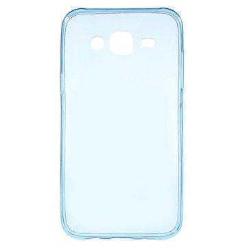 Samsung Galaxy J5 Ultra Dunne TPU Case Blauw