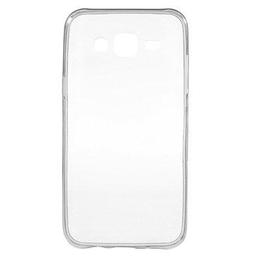 Samsung Galaxy J5 Ultra Dunne TPU Case Grijs