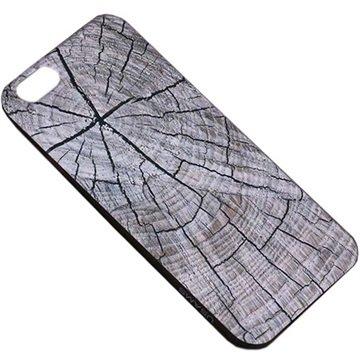 iPhone 6 Plus / 6S Plus Usams Wood Grain TPU Case Grijs