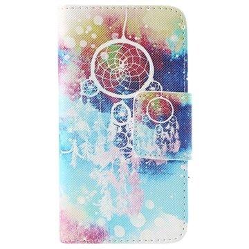 Samsung Galaxy S6 Wallet Hoesje Colorful Dromenvanger