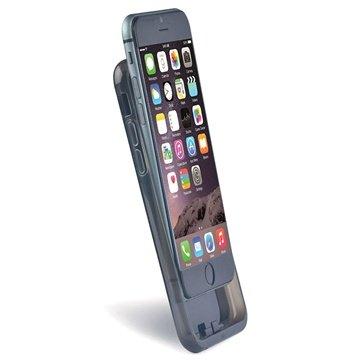 iPhone 6 Plus / 6S Plus Draadloze Opladen TPU Case Zwart
