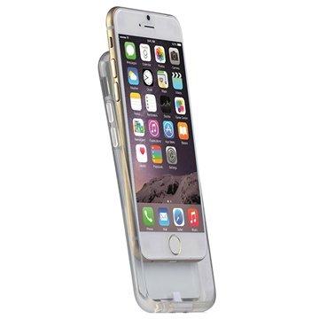iPhone 6 Plus / 6S Plus Draadloze Opladen TPU Case Wit