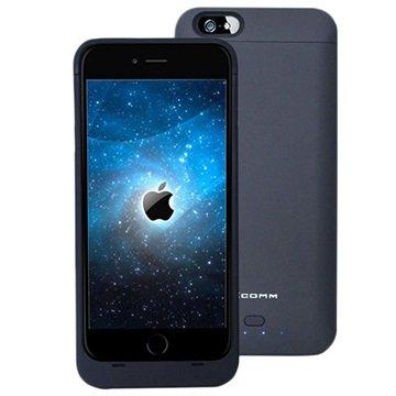 iPhone 6 Plus / 6S Plus Xcomm Backup Batterij Case Zwart
