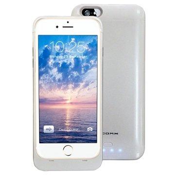 iPhone 6 Plus / 6S Plus Xcomm Backup Batterij Case Wit